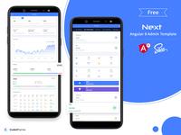 Free Next Angular 8 Admin Template
