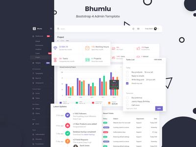 Bhumlu Bootstrap 4 Admin Template