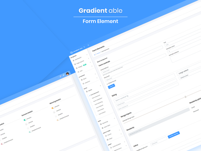 Form Element - Gradient Able Admin Template