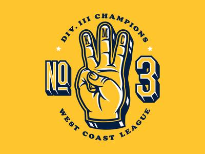 Kidmarkie Division 3 Champs Hand