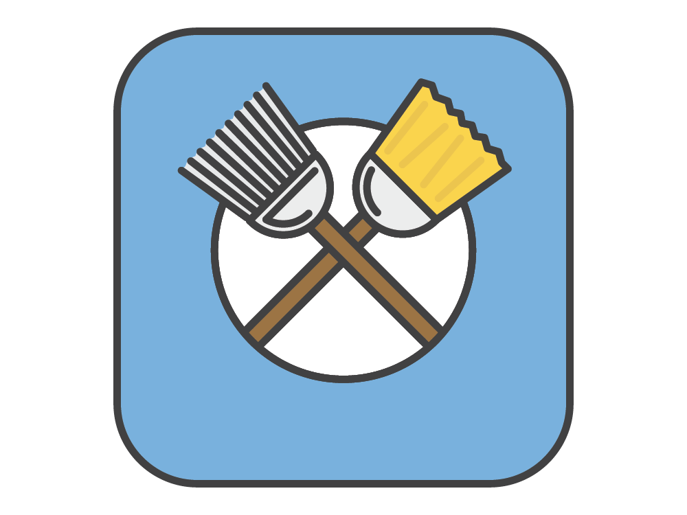 Dirty Bach - Awarding winning Icon app vector graphic fun design illustration