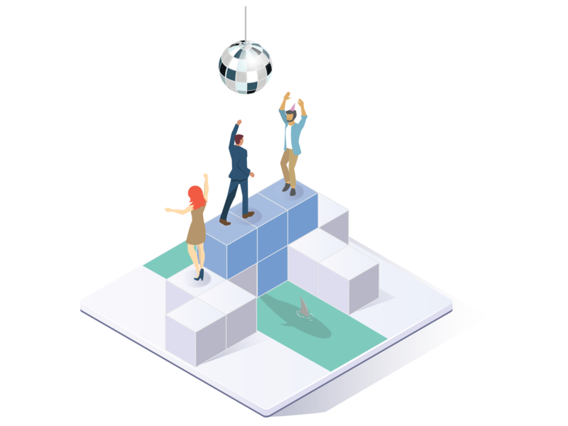 Integration Service integration integrations web character vector graphic fun design illustration