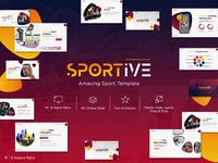 Sportive Presentation Template