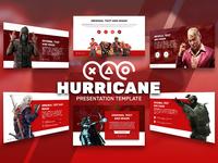 Hurricane Game Presentation Template