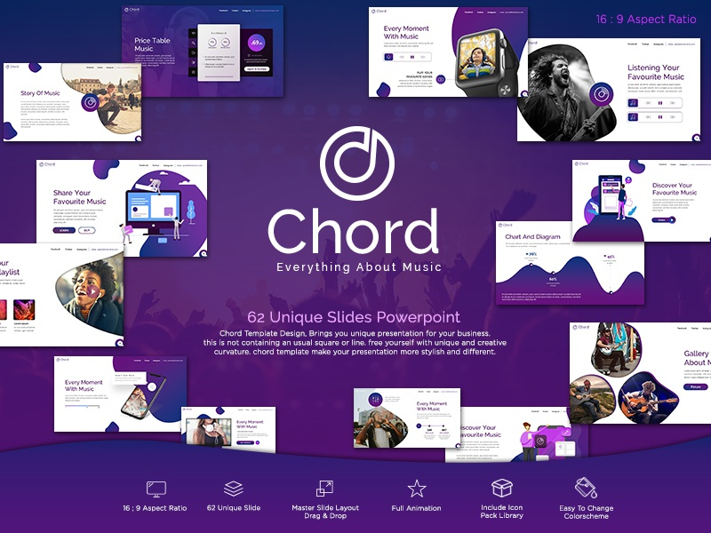 Chord Music Presentation Template