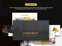 Construct Presentation Template