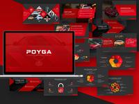 Poyga Automative Presentation Template