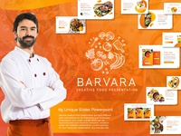 Barvara Food Presentation Template