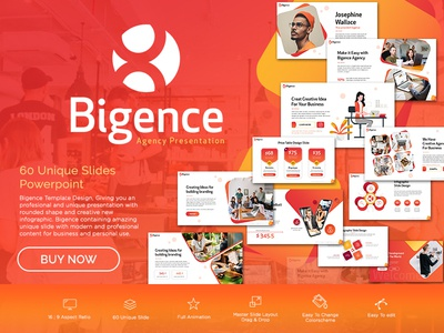 Bigence Agency Presentation Template
