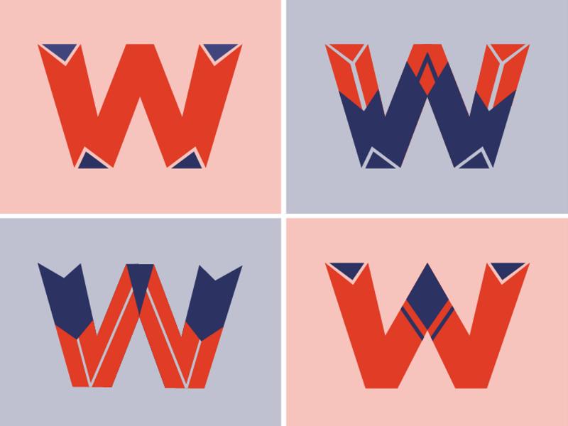 W illustrator vector art letter art lettering design type art letter letters