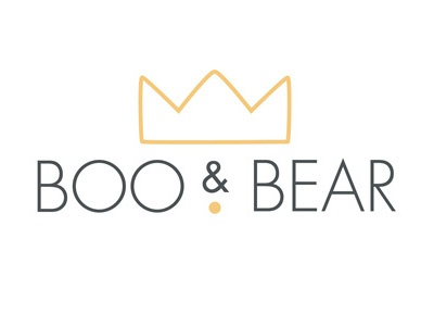 Boo & Bear logo exploration logotype bear crown logo design branding childrens brand logodesign logo 2d