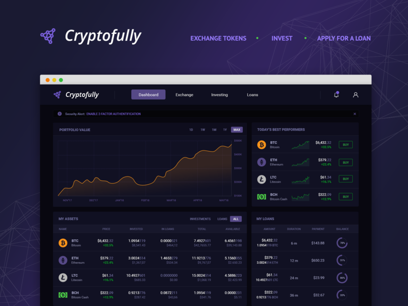 cryptocurrency exchange loans