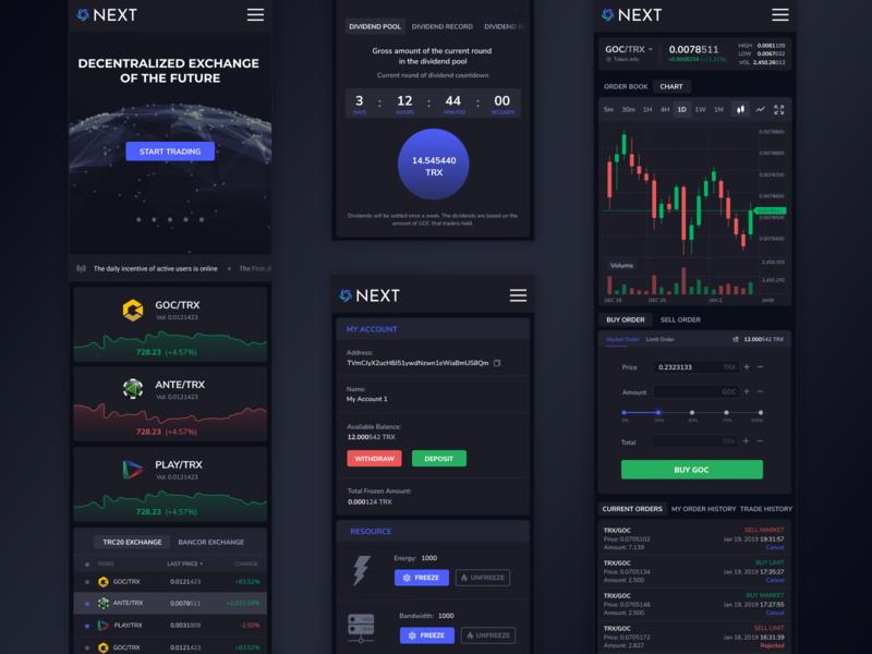 next cryptocurrency exchange