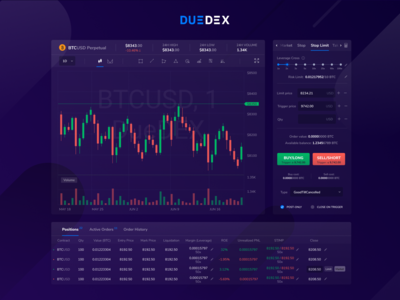 DueDEX - Crypto Derivatives Exchange
