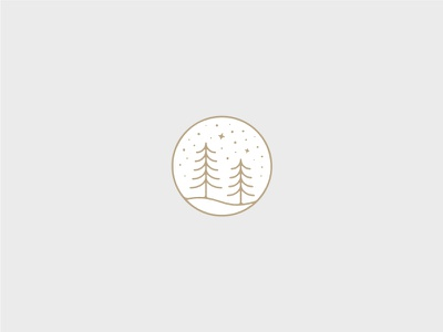 Winter illustration iconography icon new year holiday christmas minimal badge season winter