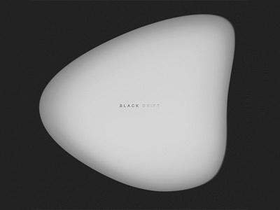 Black Drift spotify minimal white black bw art playlist album