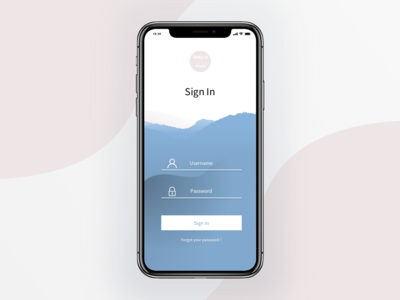 Sign up Uidaily #001