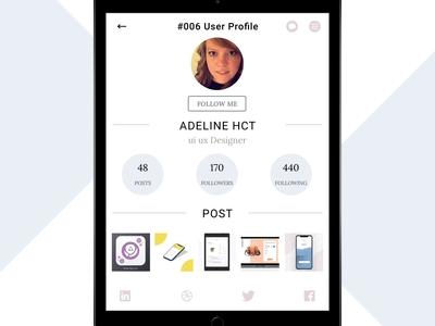 #006 User profile