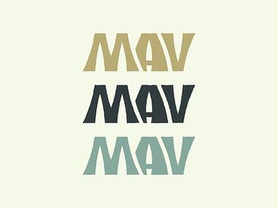 Mav Wordmark camping cooking fishing wordmark youtube channel youtube youtuber customwordmark outdoors