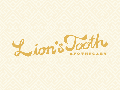 Apothecary Wordmark option.