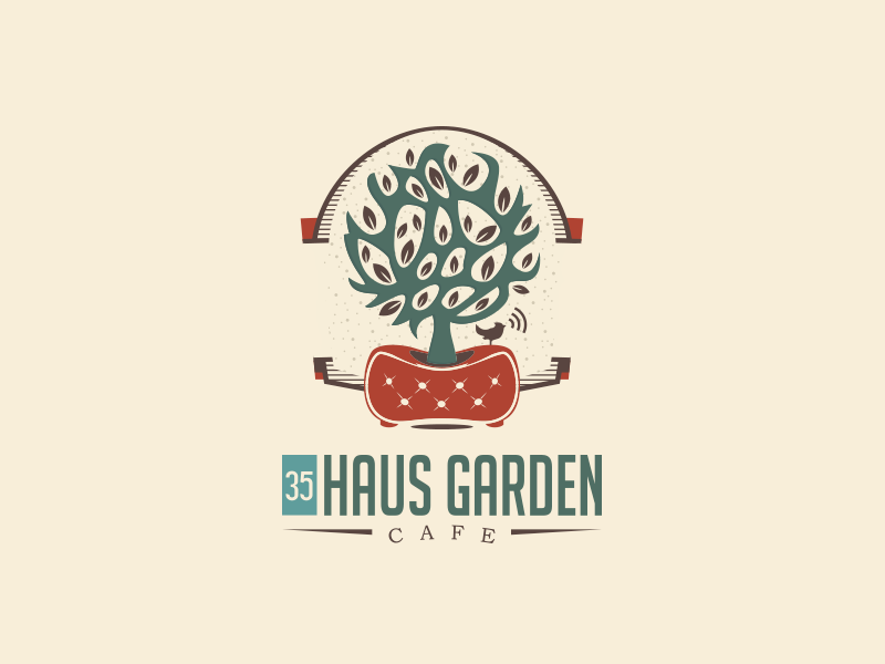 Haus Garden Cafe By Overbi On Dribbble