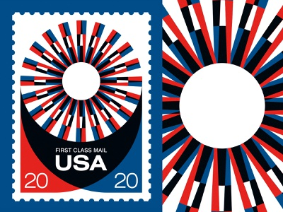 """Save the USPS - """"Nor Heat..."""" print screen print usa retro swiss post office stamps stamp sun poster illustration vintage"""