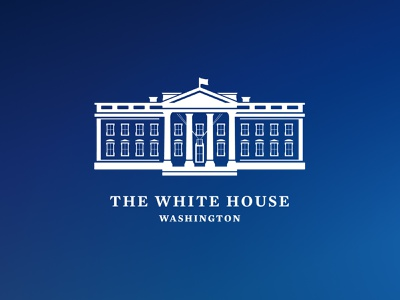 White House logo for the Biden-Harris Administration typography design icon system harris white house illustration branding logo