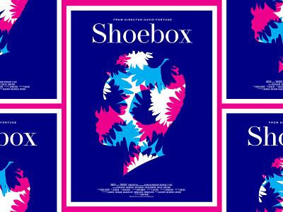 Shoebox movie poster poster illustration color flowers film makers film short film movie poster