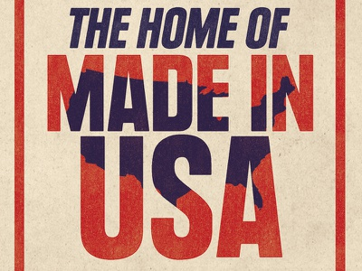 The Home of Made in USA america old vintage usa