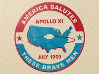 Apollo 11 Badge No. 3 of 24