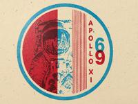 Apollo 11 Badge No. 4 of 24