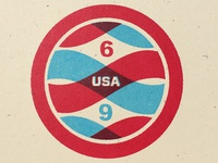 Apollo 11 Badge No. 6 of 24
