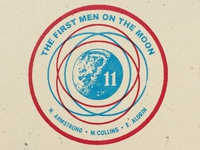 Apollo 11 badge no. 7 of 24