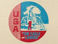 Apollo 11 badge no. 9 of 24