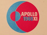 Apollo 11 badge no. 10 of 24