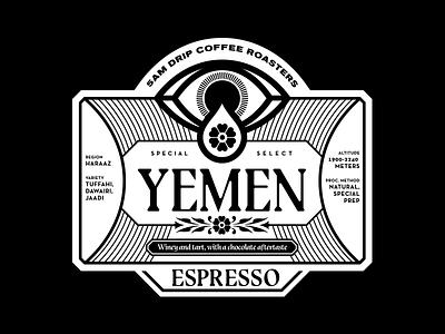 5am Drip Packaging Sticker packaging typography eye sticker coffee