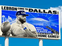 Lebron to Dallas