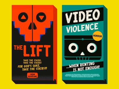 Bloody Bill font -Vintage VHS