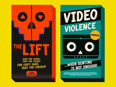 Bloody Bill font -Vintage VHS vector 1980s font collection font font design vhs vintage type font bundle