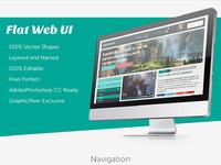 Flat web ui
