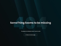 Daily UI - Day 8: Error 404 page