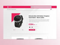 Daily UI - Day 12: E-Commerce Shop