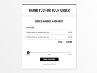 Daily UI - Day 17: Email Receipt