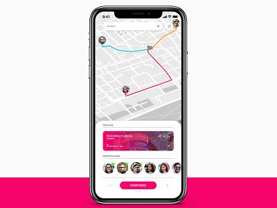Daily UI - Day 20: location tracker maps tracker location 020 ui dailyui