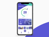 Daily UI - Day 21: Home Monitoring Dashboard