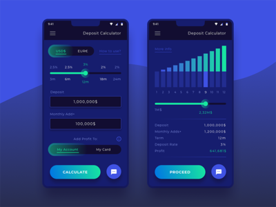 Deposit Calculator (Bank App)
