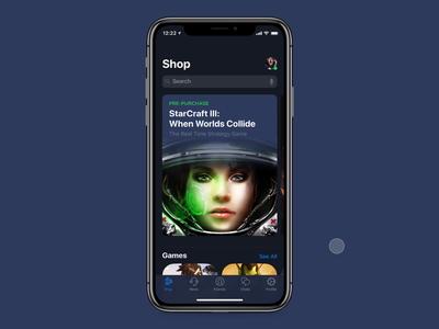 Blizzard BattleNet iOS Native App