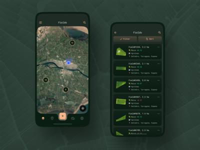 Scouting Mobile App / Fields
