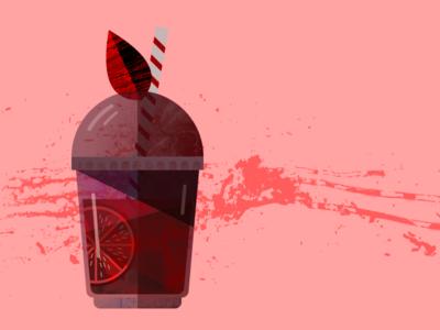 Summer Blood Sucker logo sketch vampires blood drinks summer art illustration vector