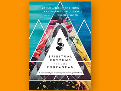 Spiritual Rhythms for the Enneagram Book Cover Concept book jacket book publishing book cover
